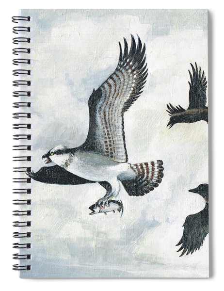 Bandit Six Oclock High Spiral Notebook