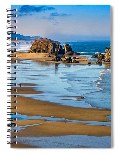 Bandon Beach Spiral Notebook