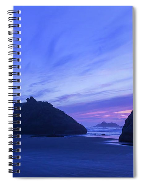 Bandon Blue Hour Spiral Notebook