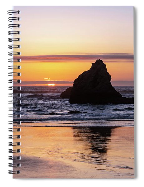 Bandon Glows Spiral Notebook