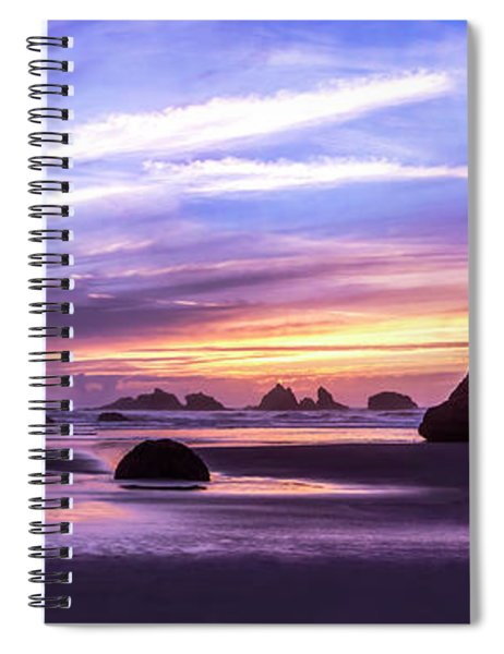Bandon On Fire Spiral Notebook