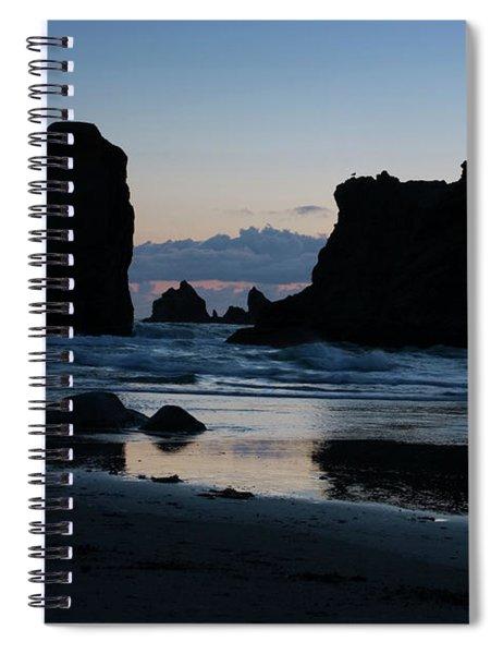 Bandon Oregon Sea Stacks Spiral Notebook
