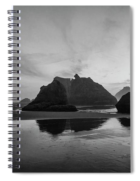 Bandon Pillars Spiral Notebook