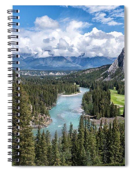 Banff - Golf Course Spiral Notebook
