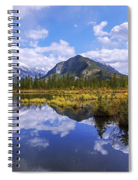 Banff Reflection Spiral Notebook