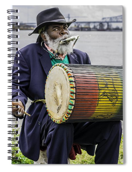 Bang That Drum Spiral Notebook