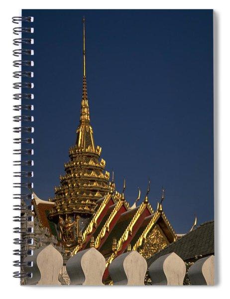Bangkok Grand Palace Spiral Notebook by Travel Pics