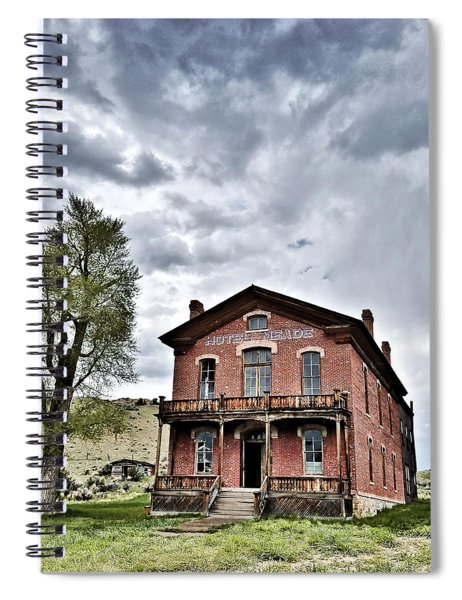 Bannack Mt. 7 Spiral Notebook