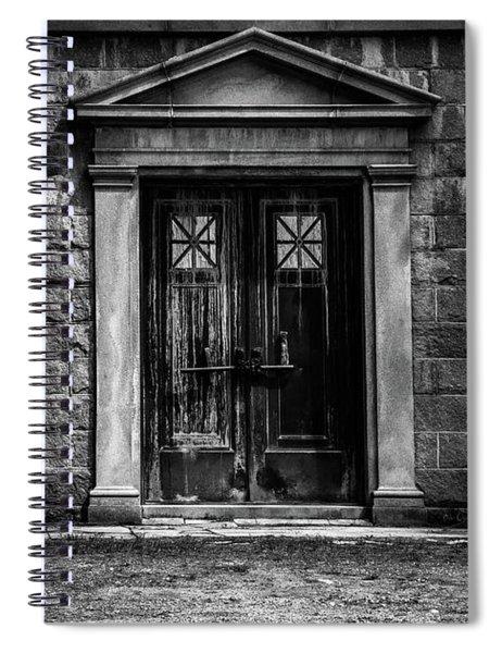 Bar Across The Door Spiral Notebook
