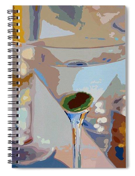 Bar Drinks Spiral Notebook