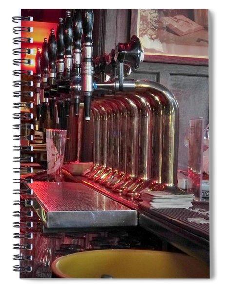 Bar Taps In Kilkenny Spiral Notebook