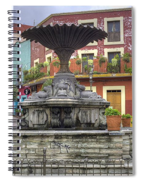 Baratillo Plaza Spiral Notebook