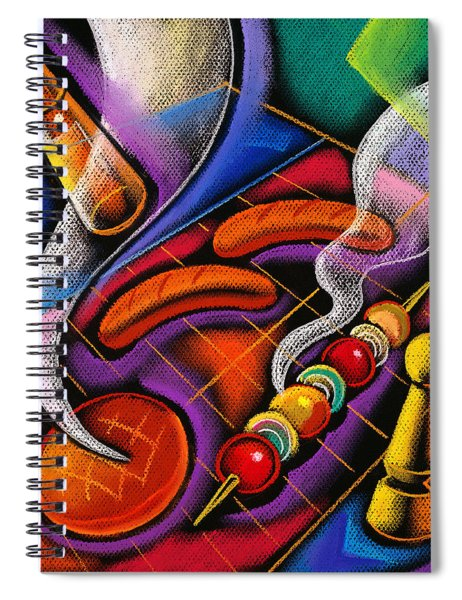 Barbecue Spiral Notebook