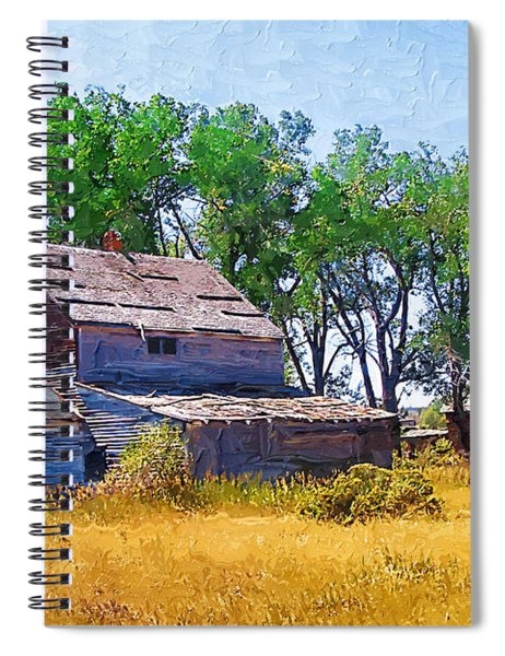 Barber Homestead Spiral Notebook