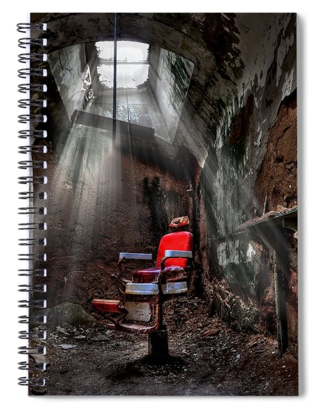 Barber Shop Spiral Notebook