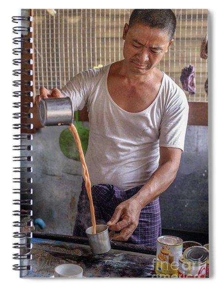Barista Spiral Notebook
