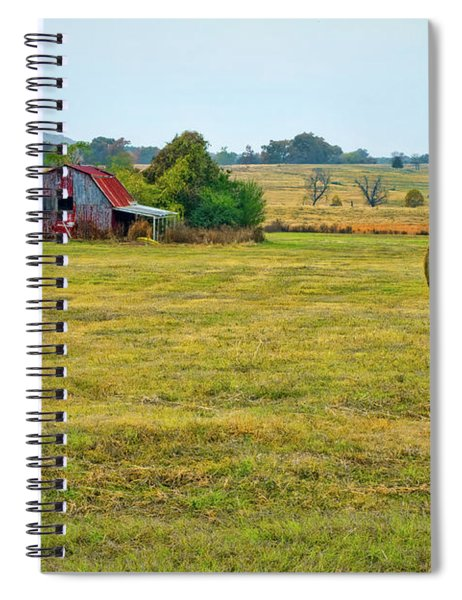 Barn And Field Spiral Notebook