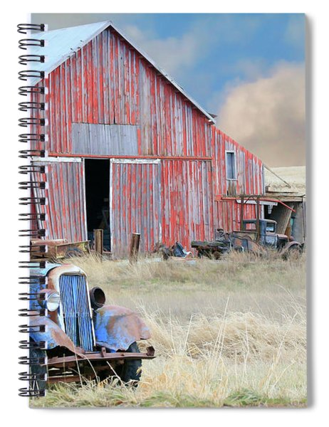 Barn Finds Spiral Notebook