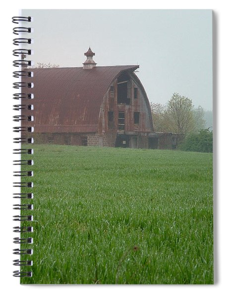 Barn In Summer Spiral Notebook