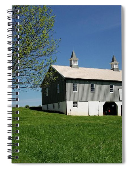 Barn In The Country - Bayonet Farm Spiral Notebook
