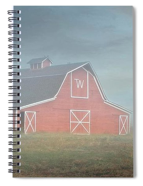 Barn, Longmont, Colorado Spiral Notebook