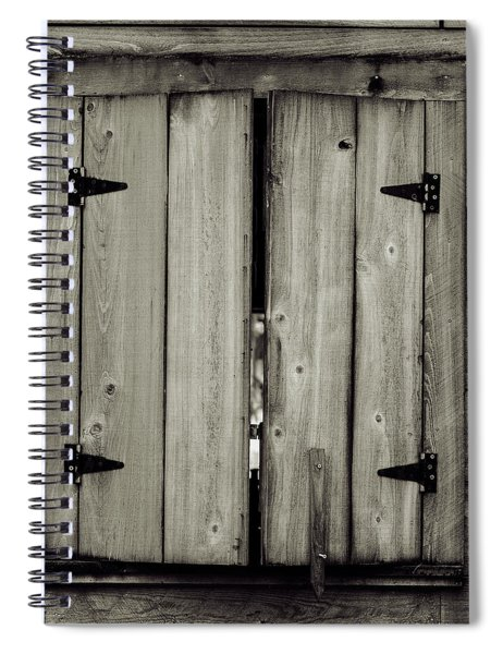 Barn Window Spiral Notebook