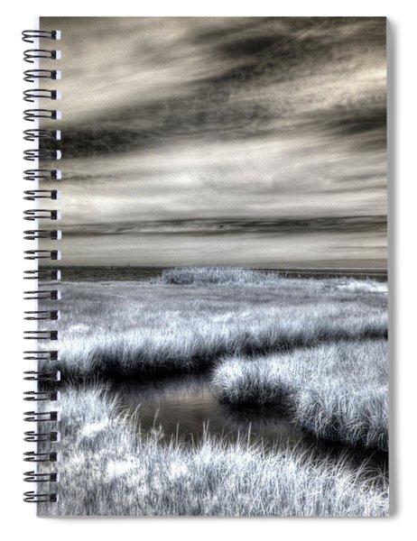 Barnegat Bay New Jersey Spiral Notebook