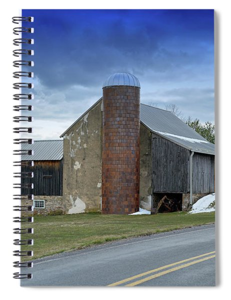 Barns And Country Spiral Notebook