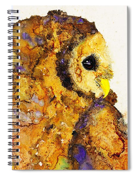 Barred To The Left Spiral Notebook
