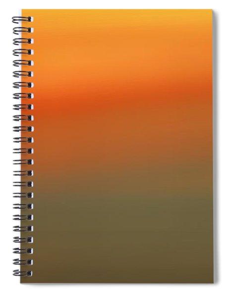 Barren Sunset Spiral Notebook