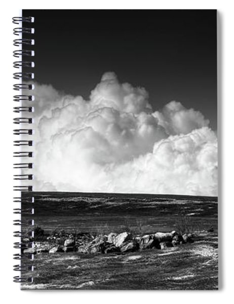 Barrens Clouds Spiral Notebook