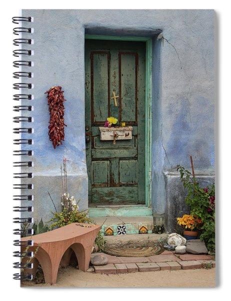 Barrio Door Spiral Notebook