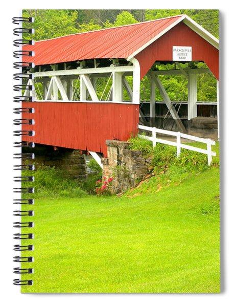 Barron's Covered Bridge Spiral Notebook