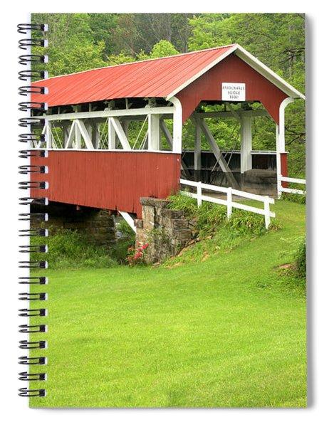 Barronvale Covered Bridge Spiral Notebook