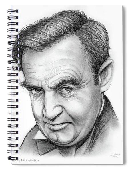 Barry Fitzgerald Spiral Notebook