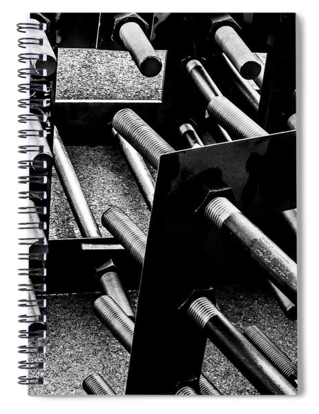 Bars Spiral Notebook