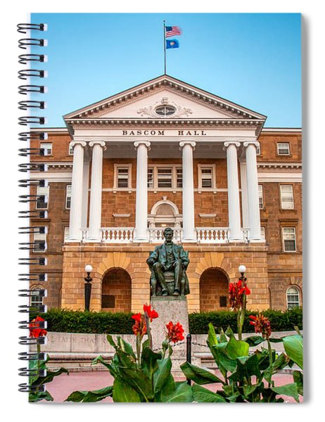 Bascom Hall Spiral Notebook