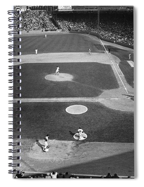 Baseball Game, 1967 Spiral Notebook