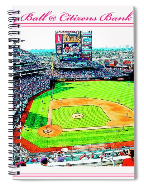 Baseball In Philly Spiral Notebook