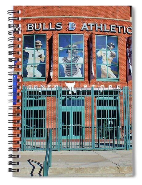 Baseball Stadium Spiral Notebook