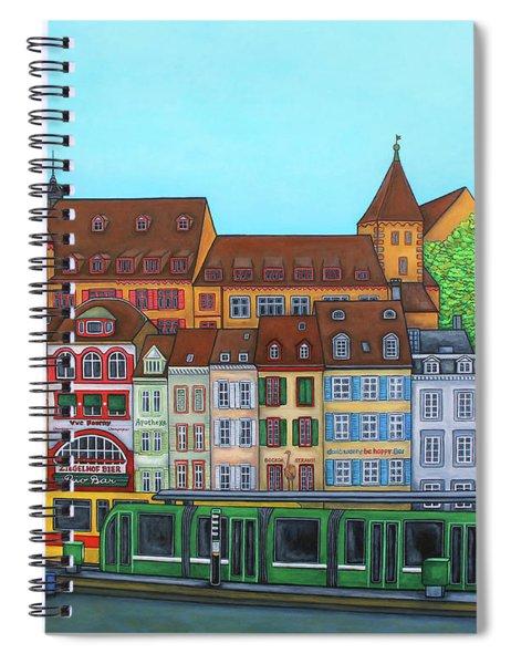 Basel, Barfusserplatz Rendez-vous Spiral Notebook