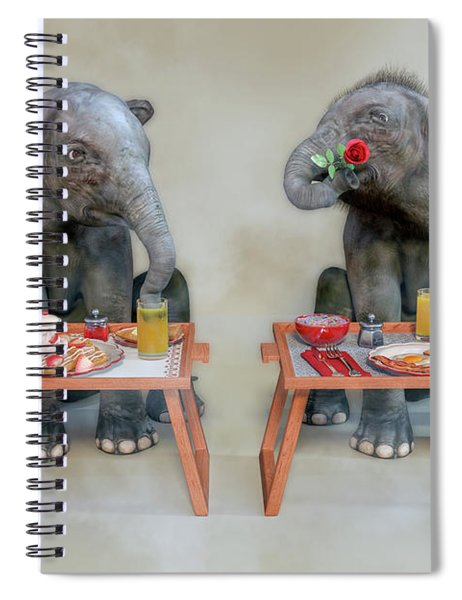 Bashful Spiral Notebook