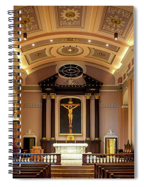 Basilica Of Saint Louis, King Of France Spiral Notebook