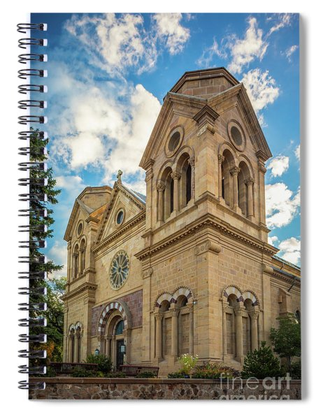 Basilica Of St. Francis Of Assisi Spiral Notebook