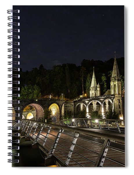 Basilica Of The Immaculate Conception Spiral Notebook