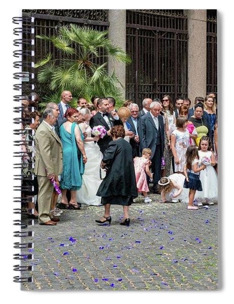 Basilica Santi Giovanni E Paolo Spiral Notebook