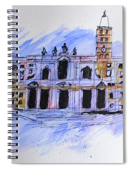 Basilica St Mary Major Spiral Notebook