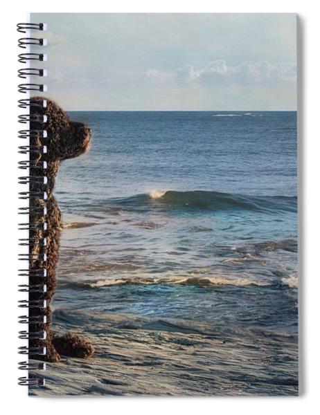 Bask In The Sun Spiral Notebook