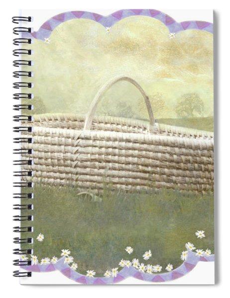Basket Spiral Notebook