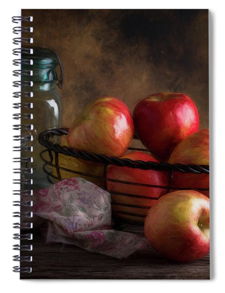 Basket Of Apples Spiral Notebook